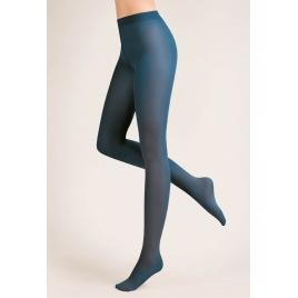 Collant legging chaud noir, gris & polaire